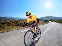 Wenn Radsportler Schmerzen haben